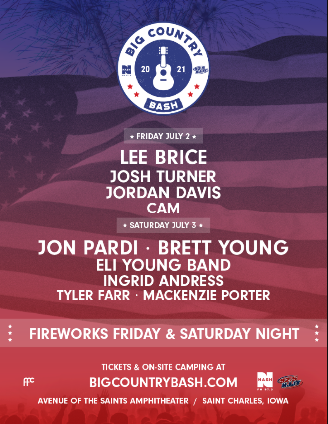 Enter To Win A Pair of Weekend Passes for Big Country Bash