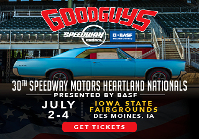 Goodguys 30th Speedway Motors Heartland Nationals July 2-4