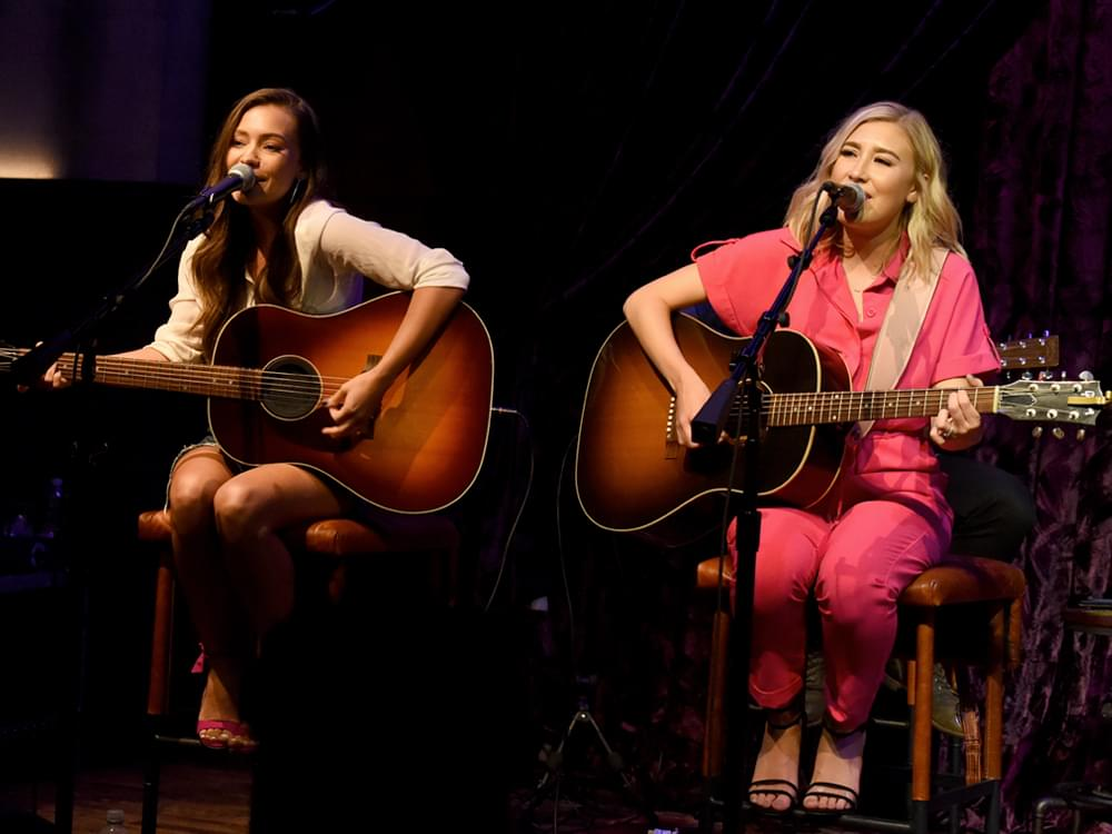 """Maddie & Tae Are Ready to Rock Carrie Underwood's Cry Pretty Tour 360: """"We've Rehearsed Our Butts Off"""""""