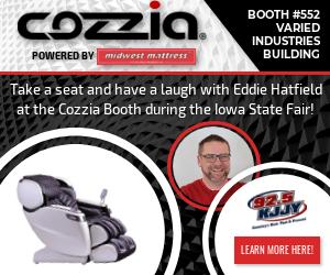 Eddie at the Iowa State Fair – Booth #552