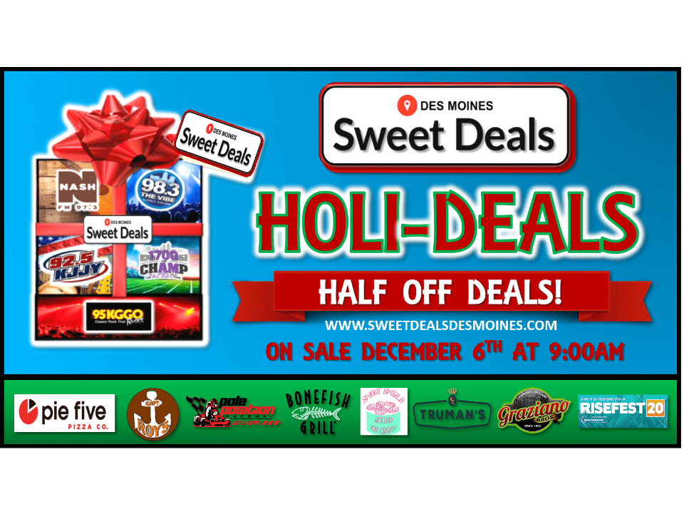 Sweet Deals Holi-Deals Are Here!