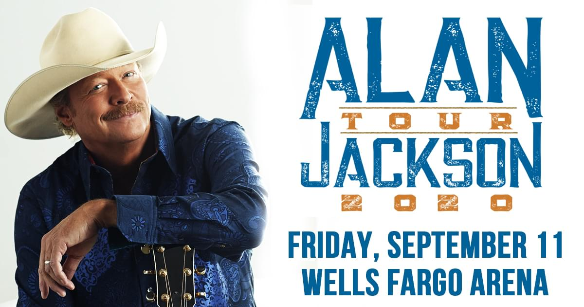 Alan Jackson at Wells Fargo Arena