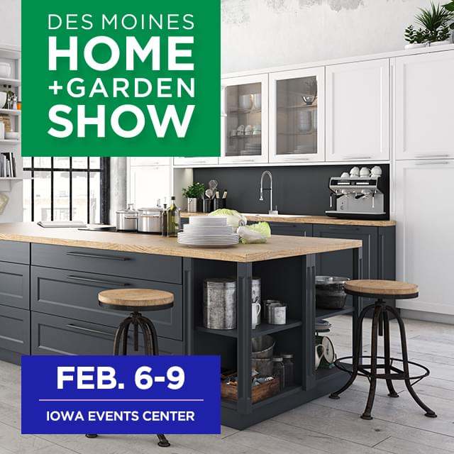 90's At Noon: 90 Tickets to the Des Moines Home and Garden Show