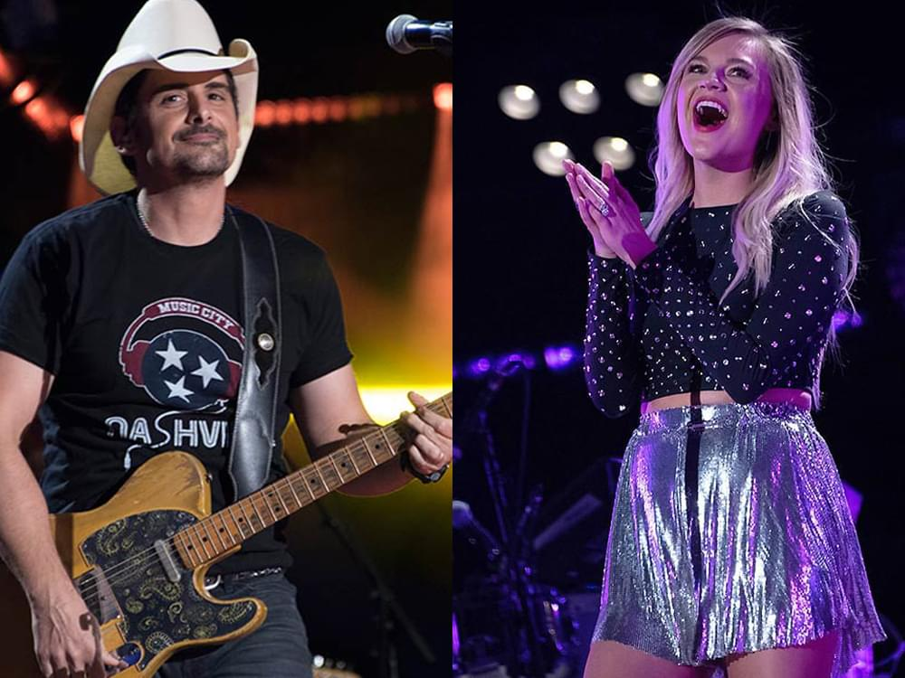 March 19: Live-Stream Show Calendar With Brad Paisley, Kelsea Ballerini, Willie Nelson & More