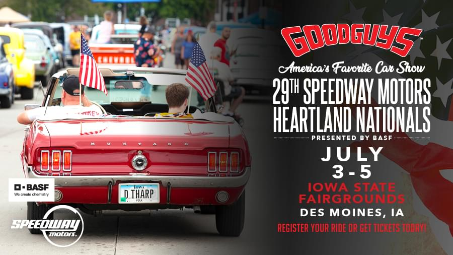 GOODGUYS 29TH SPEEDWAY MOTORS HEARTLAND NATIONALS