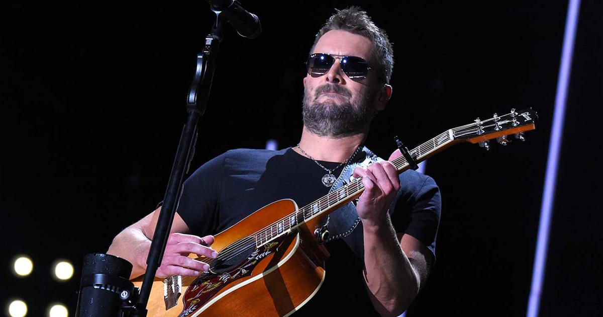 """Watch Eric Church's New Lyric Video for Rowdy Single, """"Stick That in Your Country Song"""""""