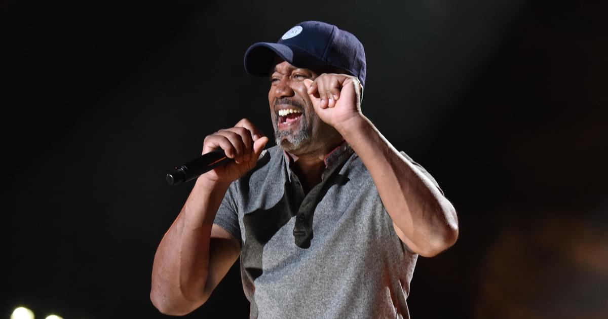 """""""Darius Rucker & Friends"""" Concert to Benefit St. Jude Going Virtual on July 30"""