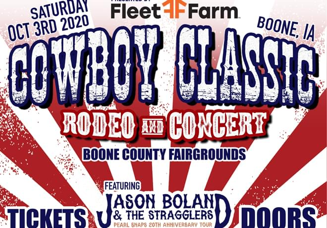 Cowboy Classic Rodeo In Boone, IA
