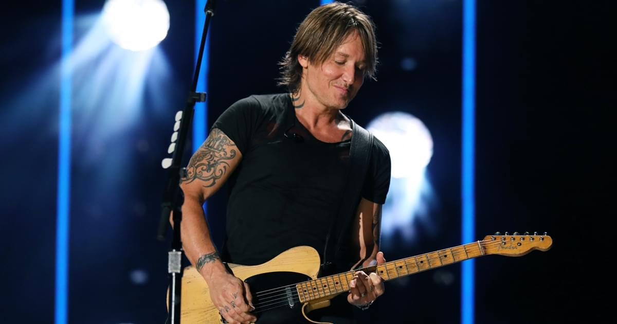 """Watch Keith Urban's High-Powered Performance of """"Forever"""" on """"Late Night"""""""
