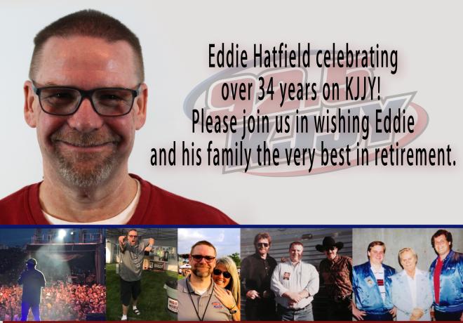 Eddie Hatfield Retiring!