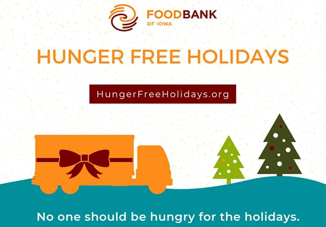 Give Central Iowa a Hunger Free Holiday Season!