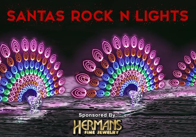 Santa's Rock N Lights at Living History Farms
