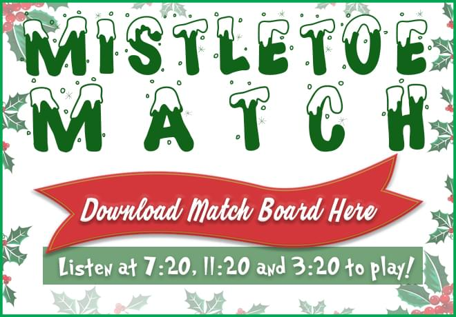 Mistletoe Match Is Back And Bigger Than Ever For 2020!