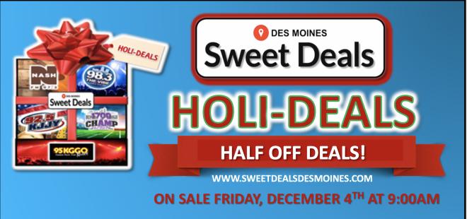 Sweet Deals HOLI-DEALS!