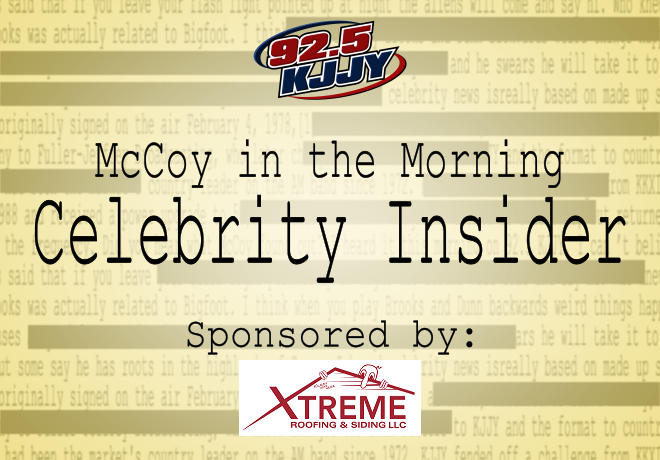 McCoy in the Morning Celebrity Insider for Monday
