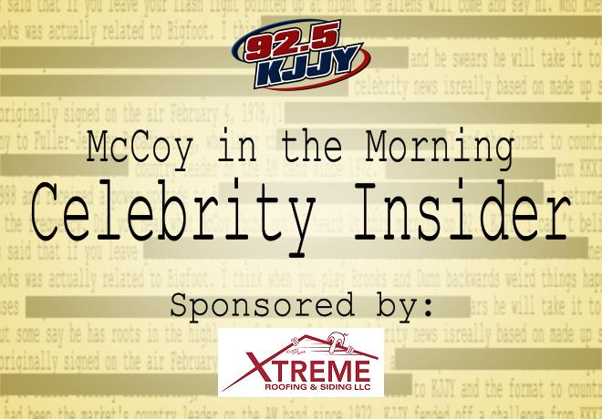 McCoy in the Morning Celebrity Insider for Wednesday