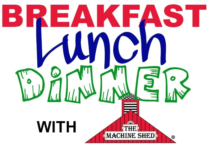 Win Breakfast, Lunch or Dinner at The Machine Shed