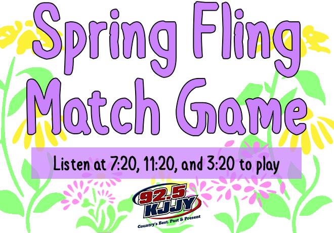 The Spring Fling Match Game Is Here!