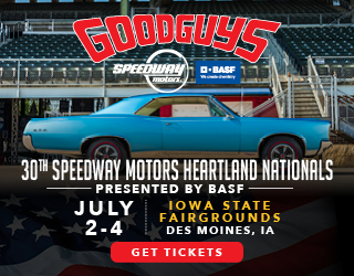 Enter to Win a 4-Pack of Tickets to the Good Guys Car Show