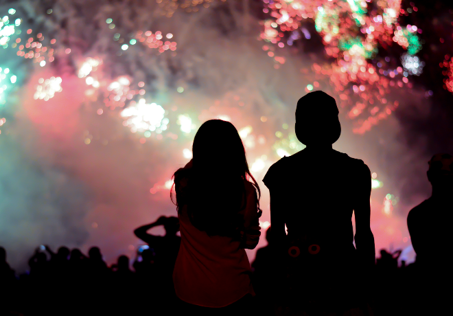Where to catch the fireworks this 4th of July weekend!
