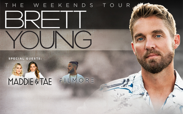 Register to Win Two Tickets to Brett Young at the Alliant Energy PowerHouse!