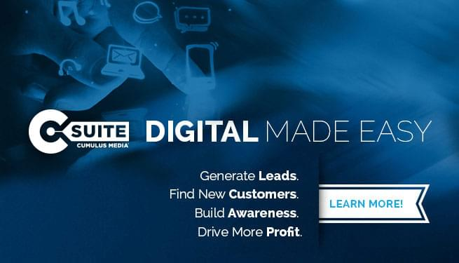 Learn more about C-Suite from Cumulus Digital, digital advertising made easy!