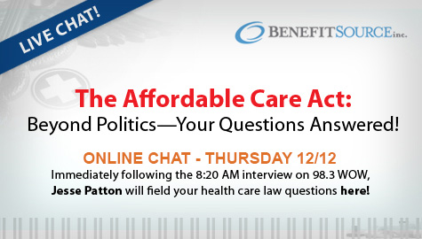 Affordable Care Act – Beyond the Politics: LIVE CHAT