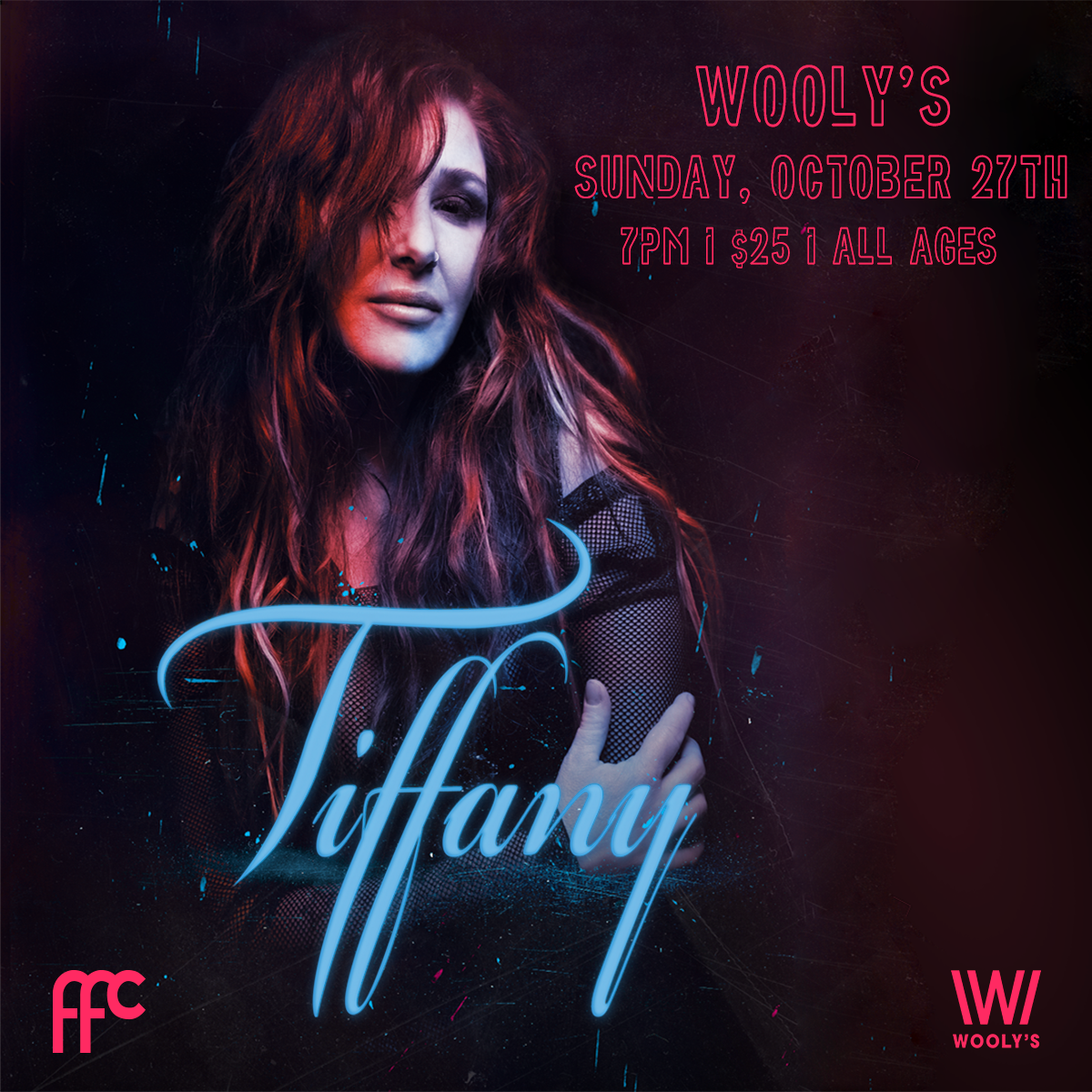 '80s Pop Icon Tiffany Playing Show at Wooly's