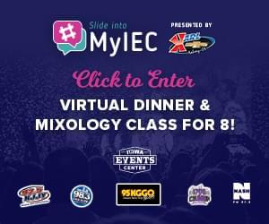 Iowa Events Center Slide Into #MyIEC