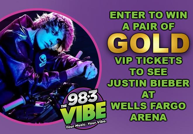 Justin Bieber Wells Fargo Arena