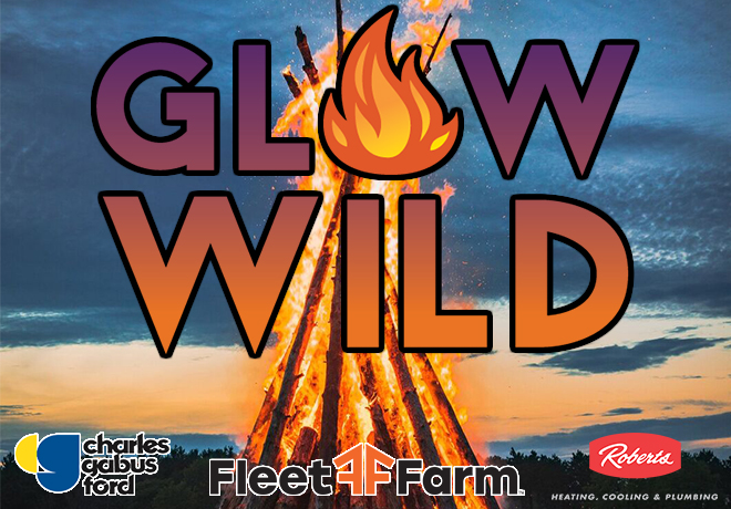 Enter To Win a 4 Pack of Glow Wild Tickets