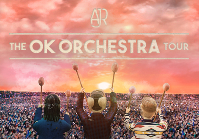 Enter To Win a 4-Pack of Tickets to AJR!