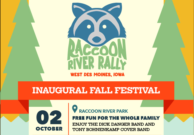 Raccoon River Rally, October 2nd!
