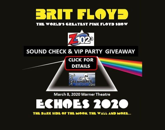 Z1023 Brit Floyd VIP Ticket Giveaway!