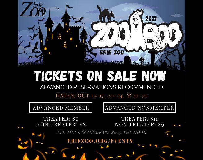 Erie ZooBOO 2021!