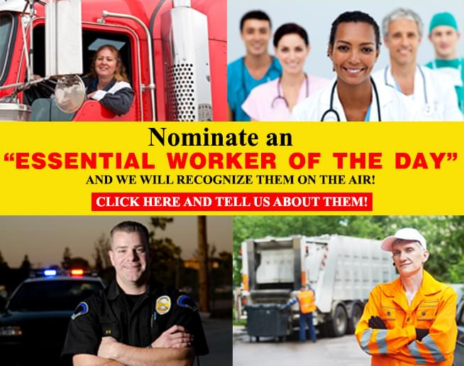 Nominate an Essential Worker you know!