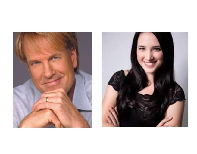 Classy 100's Vinny Marino chatted with evening host John Tesh and his daughter Prima