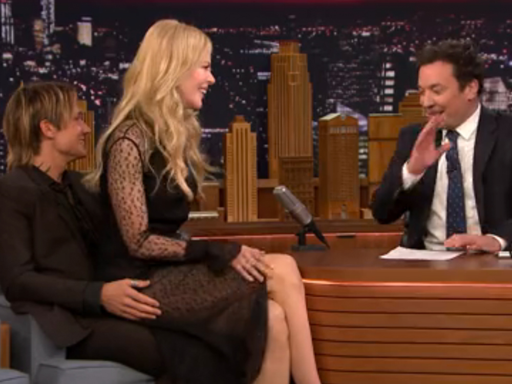 Watch Dream-Weaving Keith Urban Come to the Rescue of Wife Nicole Kidman During Hilariously Awkward Jimmy Fallon Interview