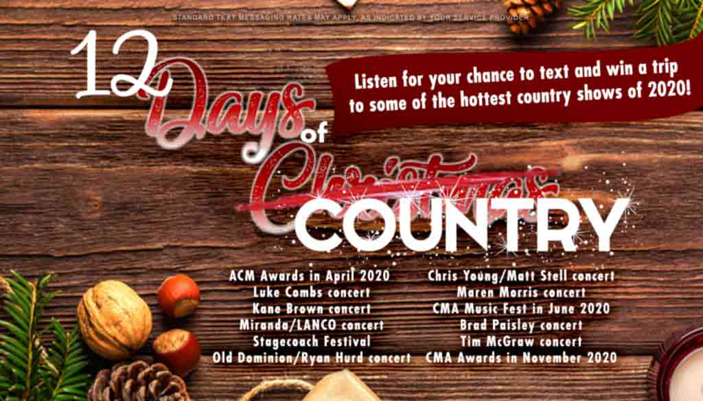 12 Days of Country
