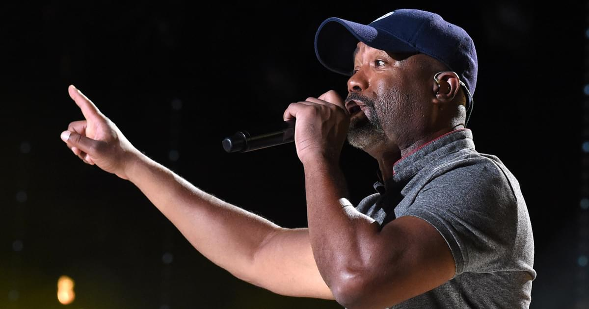 "Darius Rucker Says Hootie & the Blowfish Getting Into the Rock & Roll Hall of Fame Is ""Never Gonna Happen"""