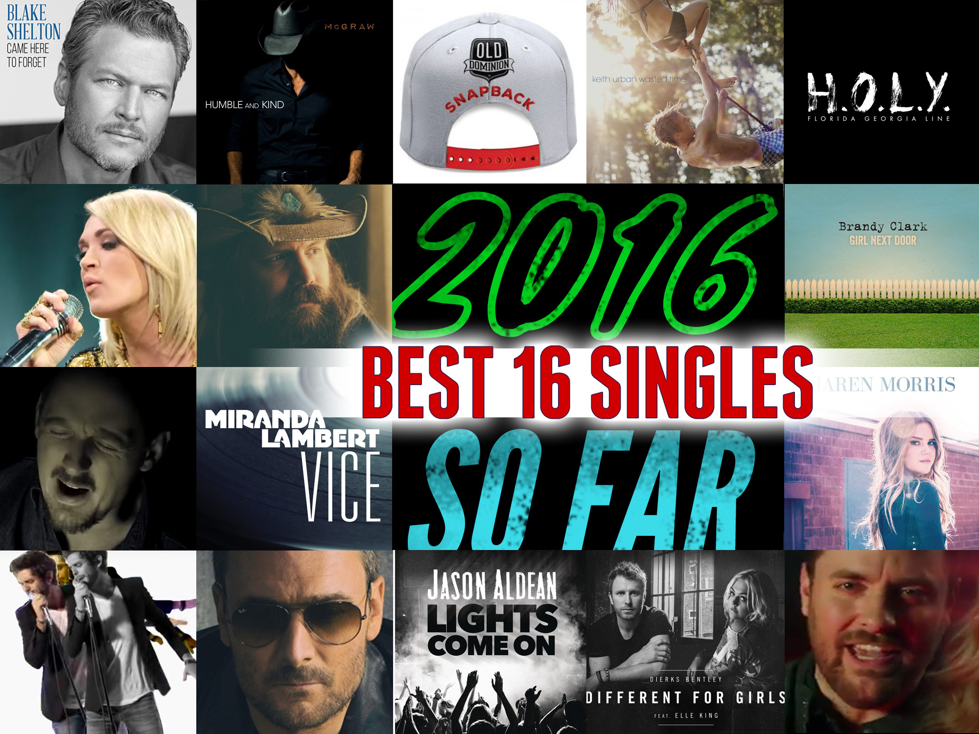 Vote Now: The 16 Best Singles of 2016 . . . So Far