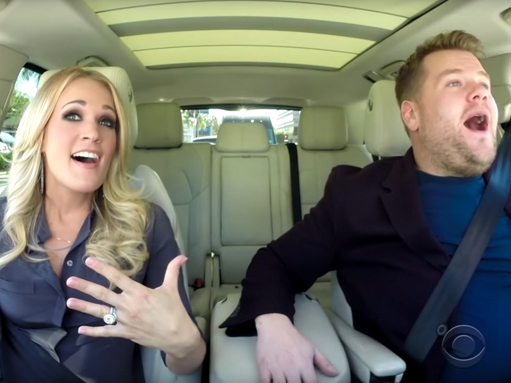 """Carpool Karaoke"" Is Getting Its Own Series on Apple Music"