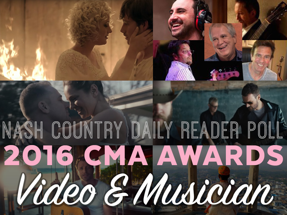 Vote Now: Who Should Win the CMA Video & Musician of the Year Awards