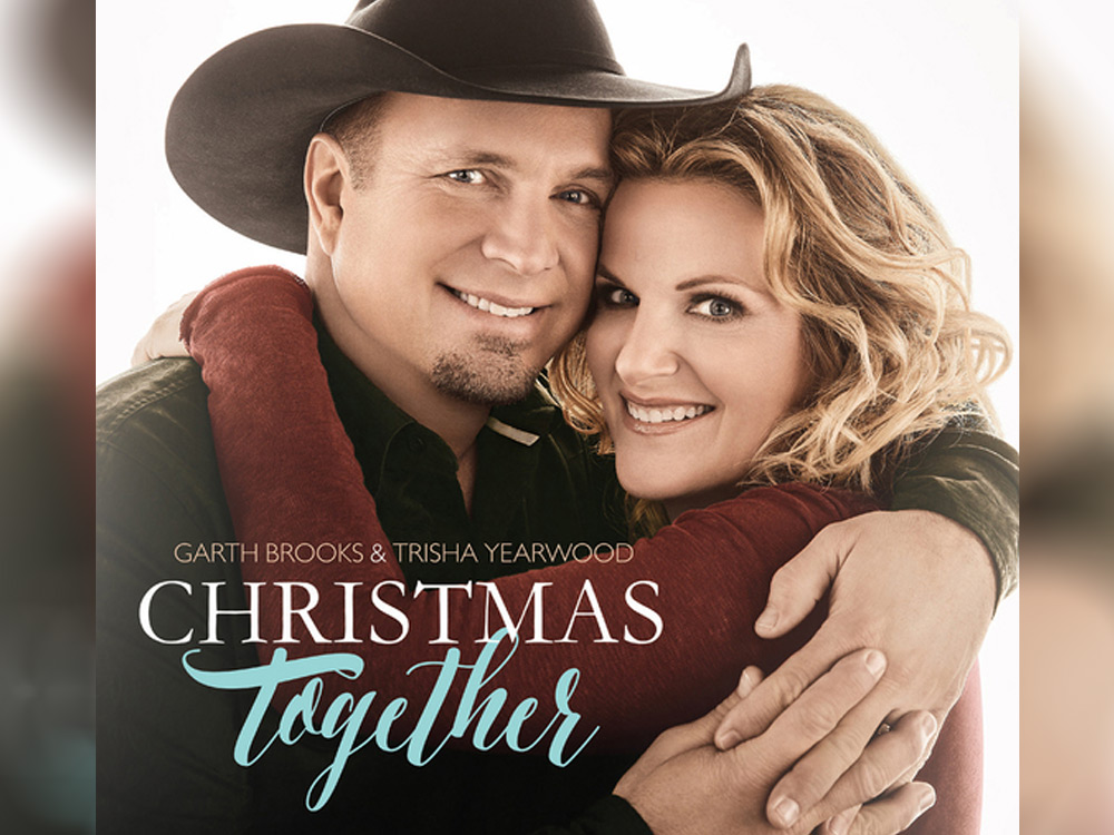 """Garth Brooks & Trisha Yearwood Reveal Cover Art for New Holiday Album, """"Christmas Together"""""""