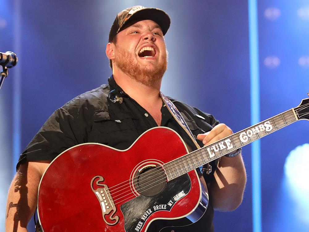 Watch Luke Combs Get a Surprise Invite to Join the Grand Ole Opry