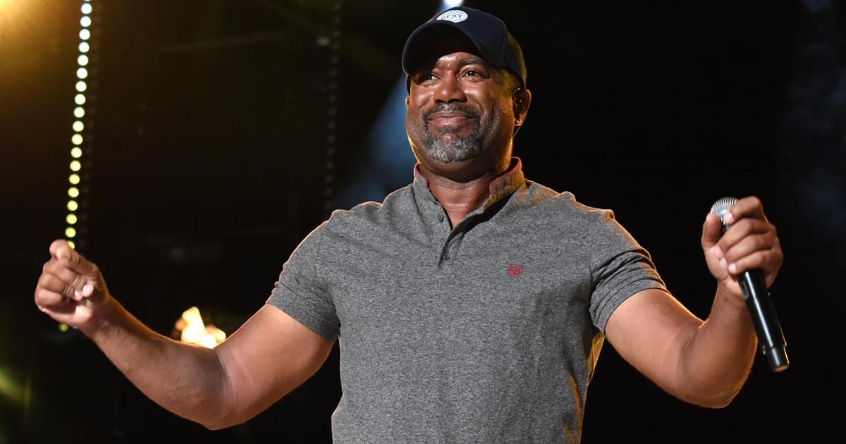 "Watch Darius Rucker Perform ""Wagon Wheel"" on the Opry With Clint Black on Harmonica"