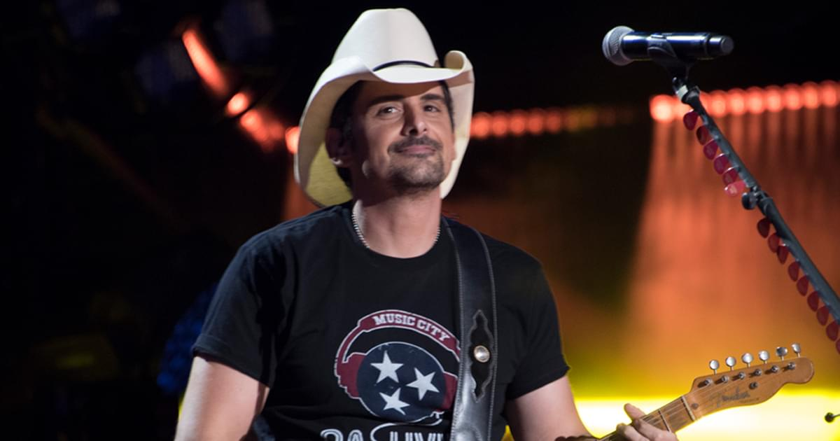 "Watch Brad Paisley's Opening Monologue as Guest Host of ""Jimmy Kimmel Live"""