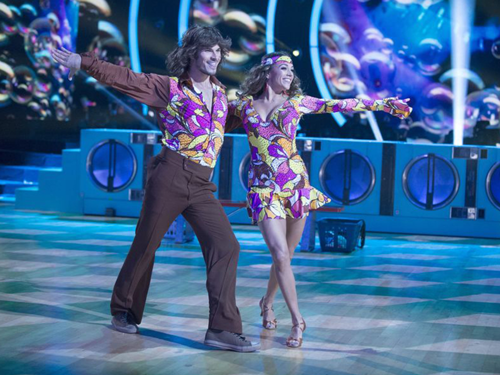 "Jana Kramer Gets Funky on ""Dancing With the Stars"""
