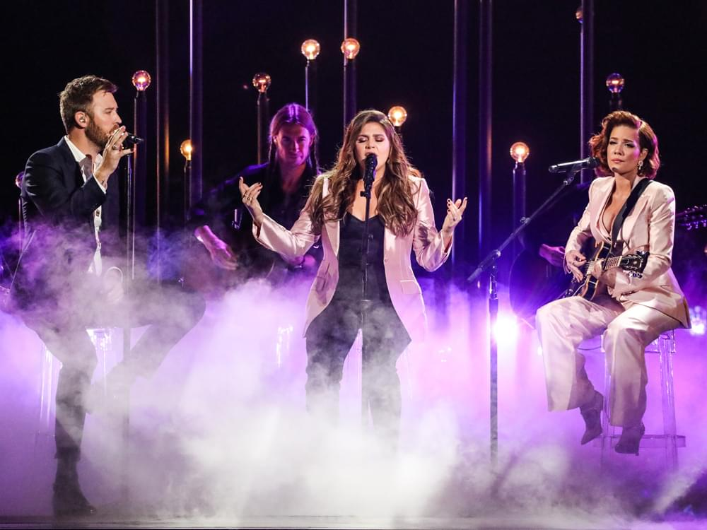 Watch Lady Antebellum Team With Halsey for Powerful Medley at CMA Awards