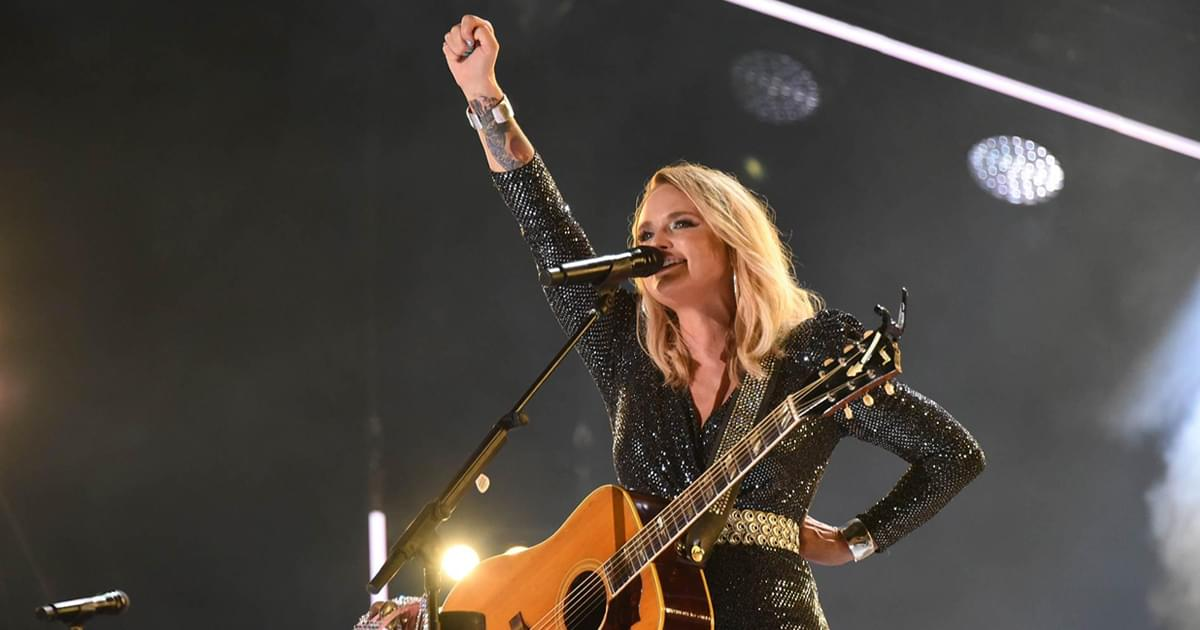 "Miranda Lambert Notches First Top 5 Hit in Six Years With ""Bluebird"""